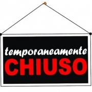 CHIUSURA RISTORANTE